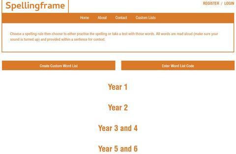 Spelling Fram website