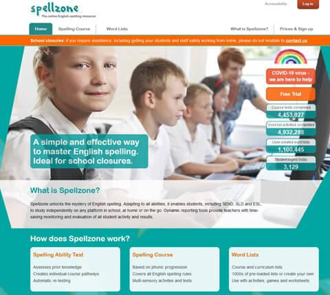 Spellzone website