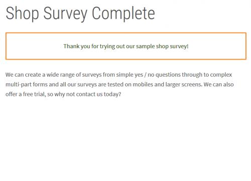 Surveys slideshow image 12